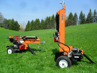 Brave LOG SPLITTERS 22, 26 & 34 ton with HONDA power