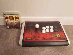 Street Fighter Fight Stick with Game (PS3)