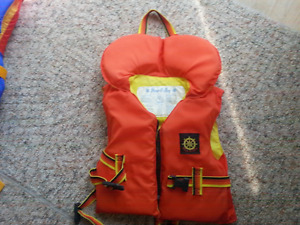 Youth and Infant life jackets