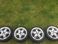 Ford Fiesta zetec s alloys
