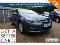 VAUXHALL ASTRA 1.4 DESIGN - 64 REG - 22K - £48 PW - FAIR & BAD CREDIT FINANCE