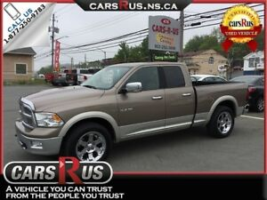 2010 Dodge Ram Pickup 1500 4x4 Laramie 4dr Quad Cab 6.3 ft. SB P