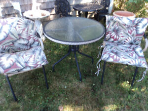 Three Piece Patio Set-Reduced $10.00