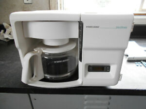 Black & Decker Spacemaker coffee maker 12 cup