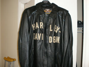 Harley 100th Anniversary Leather Jacket XXL