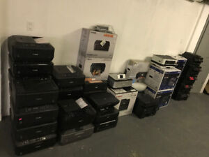 ASSORTED PRINTERS AS-IS (PLEASE READ) - FJN