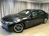 2014 14 BMW 5 SERIES 2.0 520D M SPORT 4D 181 BHP DIESEL