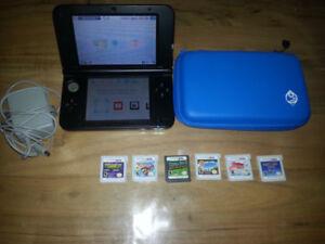 Console nintendo 3ds XL avec 6 jeux