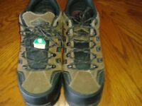 STEEL TOE WORK SHOES - NEW - NEVER WORN - SIZE 11 - $80 NEW