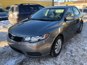 2013 KIA FORTE LX 144162 KM GET EASY FINANCE TODAY