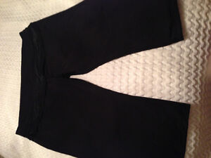 Black Adidas Capri Pants
