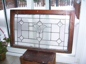 Antique stained glass window Kingston Kingston Area image 1