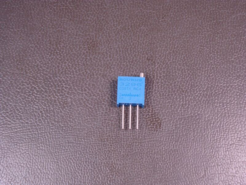 "RJR24FW202M Bourns 3/8"" Trimpot Trimming Potentiometer 2k Ohm 25 Turns Nom 10%"