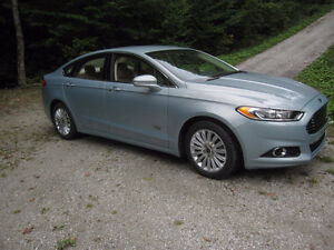 2014 Ford Fusion SE Energi rechargeable