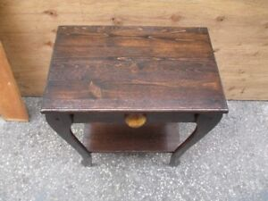 beautiful pine side table