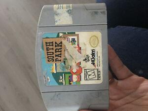 South park 15$  Nintendo 64