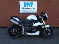 Triumph Speed Triple 1050, 2013, MINT COND, ONLY 5224 MILES, FSH, LOTS OF EXTRAS