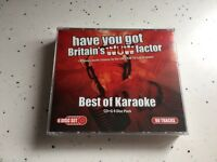 Have you got Britains Wow Factor Karaoke 6 Disc Pack