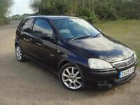 Vauxhall/Opel Corsa 1.4i 16v 2005MY Exclusiv, HEATED LEATHER, 82K, good history