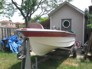 Fishing boat, motor and trailer to trade