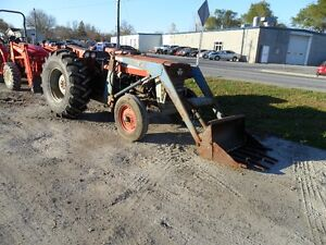 Massey Ferguson tractor c/w loader