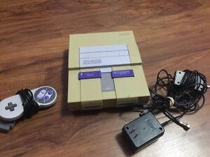 Super Nintendo system works grate ( Nintendo )