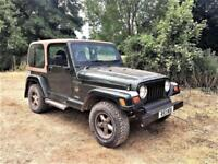 Jeep Wrangler 4.0 Sahara WITH HARD TOP + ONLY 57K