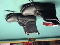 Men's size 9 driving boots