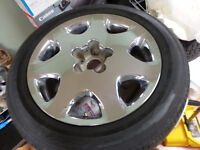 1 SPARE CHROME LEXUS MAG WITH SUMMER TIRE