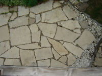 Free flagstone and other assorted stones