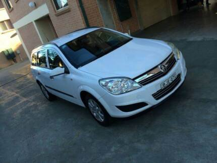 2008 Holden Astra Wagon low km Long rego A1 condition 2 keys Rooty Hill Blacktown Area Preview