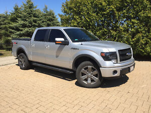 2014 Ford F-150 SuperCrew FX Luxury Package Pickup Truck