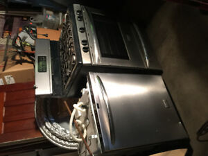 Frigidaire Gallery stainless fridge, stove & dishwasher