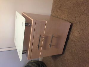 Bed side table for free or best offer with pickup