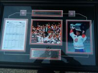 Montreal Canadiens 1993 Stanley Cup framed set
