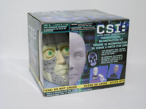 CSI Forensic Facial Reconstruction Kit - NEW