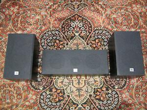 JBL G40 Bookshelf Speaker Pair and Center Channel