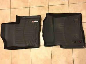 WEATHERTECH DIGITAL FIT FRONT FLOOR MATS for 2009-2014 FORD F150