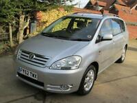 Toyota Avensis Verso 2.0 GLS Manual 7 Seater 1 Previous Keeper Low Miles
