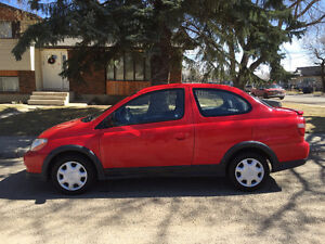 2001 Toyota Echo Coupe ...only 156k!!....48 mpg!!