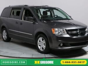 2016 Dodge GR Caravan CREW PLUS A/C CAMERA RECUL BLUETOOTH CUIR