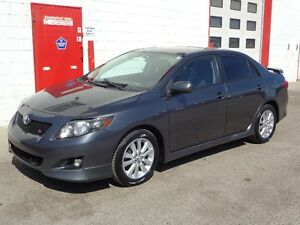 2010 Toyota Corolla S ~ 105,000kms ~ Financing Available ~ $9800