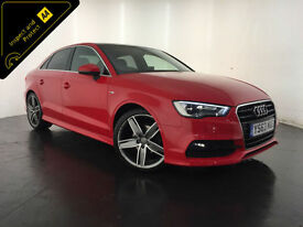 2014 AUDI A3 S LINE TDI DIESEL 1 OWNER FINANCE PART EXCHANGE WELCOME