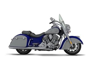 2017 Indian Motorcycle Springfield Blue Sapphire Over Star Silve
