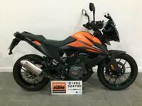 2020 KTM 390 Adventure Akrapovic Silencer only 1042 miles, 390cc 390ADV