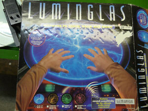 Luminglas interactive light