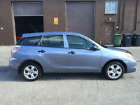 2007 Toyota Matrix Hatchback-115677KM Certified-Never accident