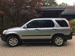 2006 Honda CR-V EX SUV, Crossover - Manual 5 Speed Transmission