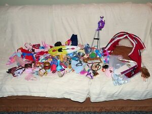 Barbie Accessories and carrying cases