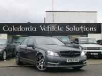 2013 63 MERCEDES-BENZ C CLASS 2.1 C250 CDI BLUEEFFICIENCY AMG SPORT PLUS 4D AUTO